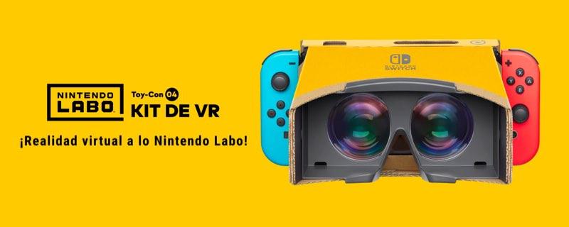 Nintendo se lanza a por la Realidad Virtual en Switch con Labo