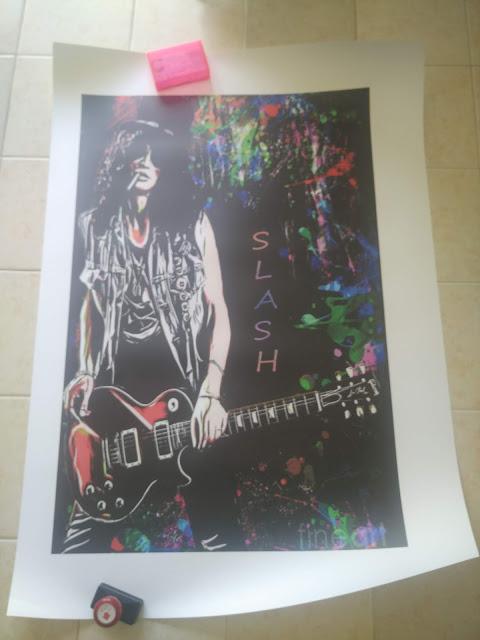 Poster Gitaris Rock