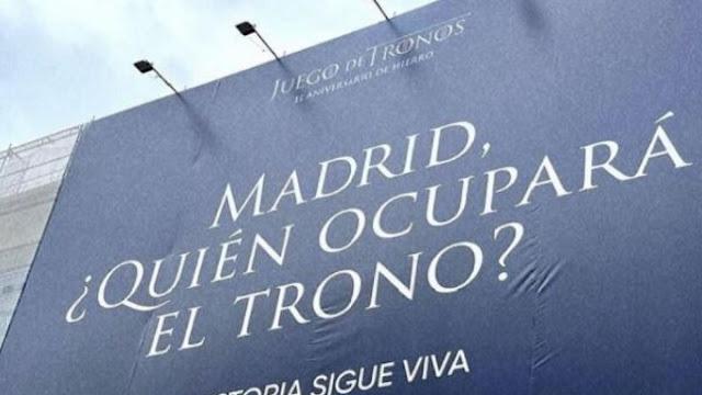 Madrid Juego de Tronos