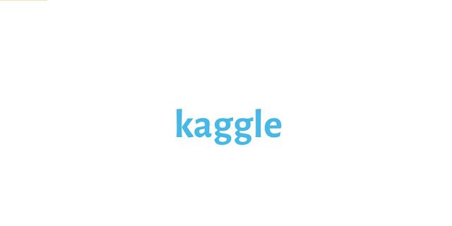 kaggle datasets