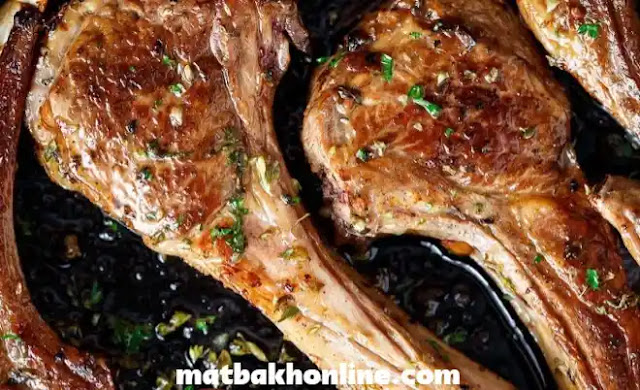 طريقة عمل اللحم الضاني المشوي