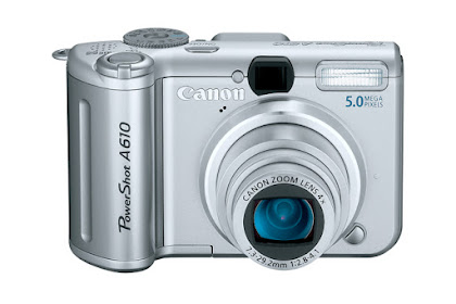 Canon PowerShot A610 Driver Download Windows, Mac