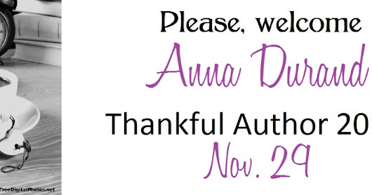 Thankful Author 2016- Anna Durand