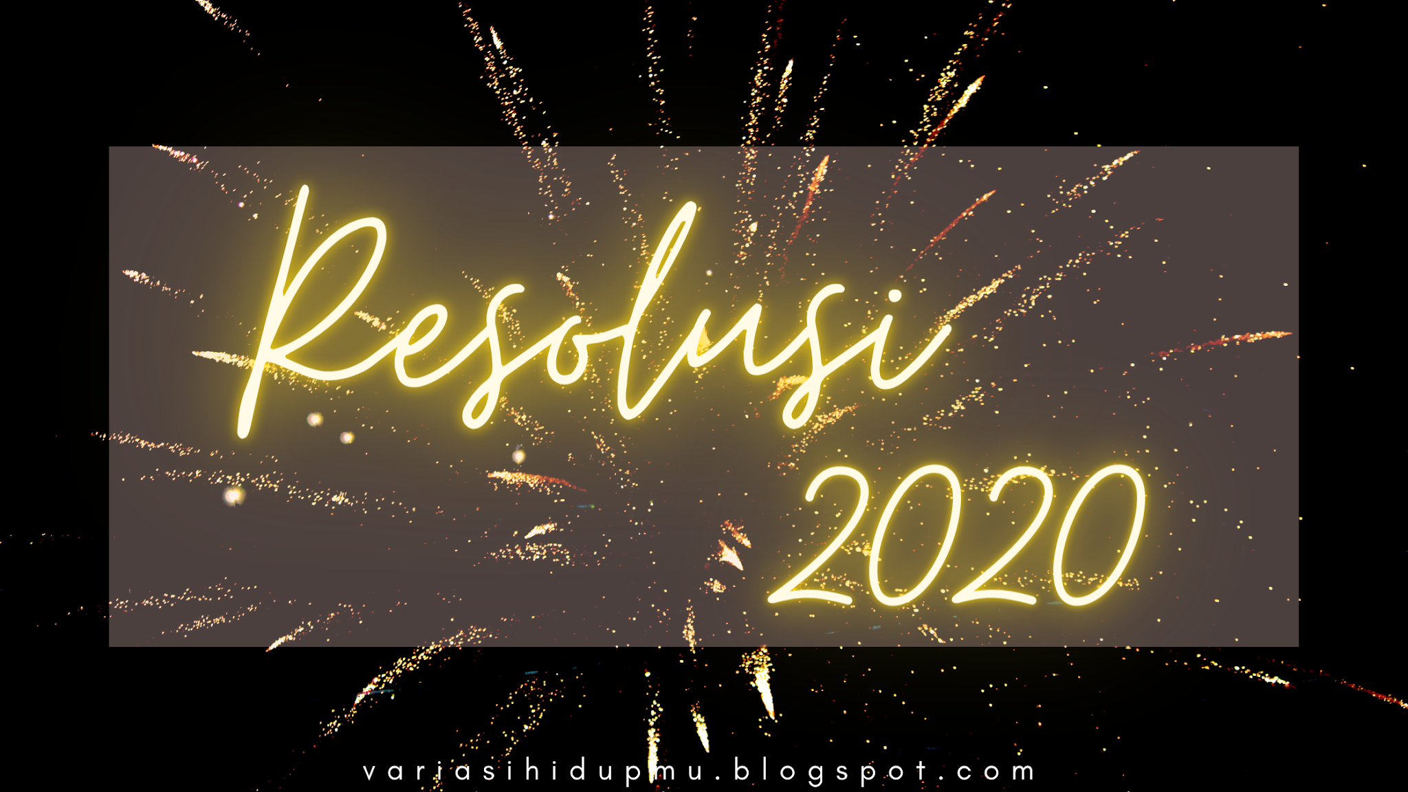 goodbye 2020 end of year resolution