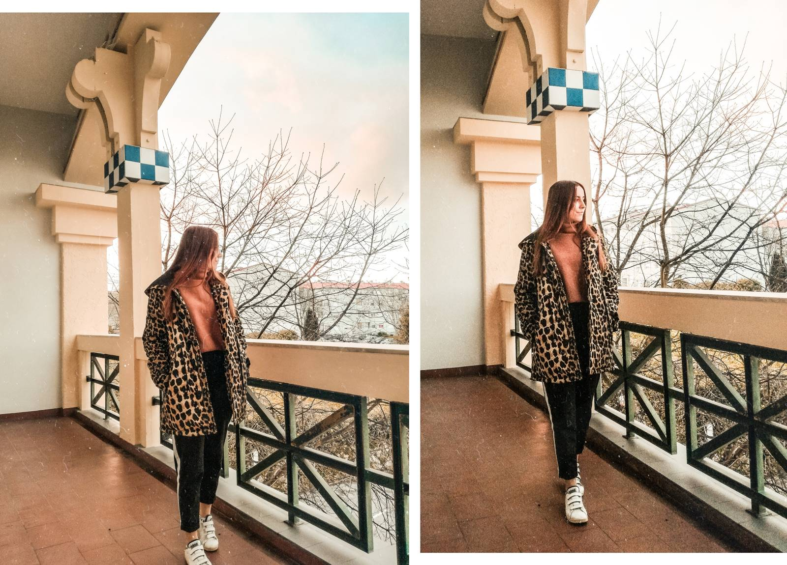 Outfit | Leopard Coat from Loavies