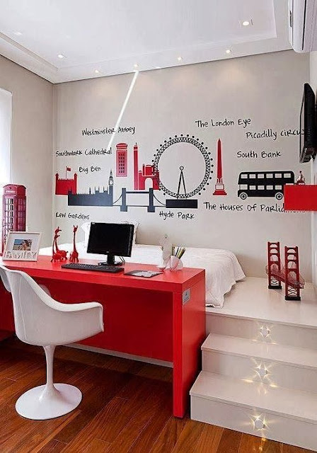 Móveis embutidos para quartos pequenos