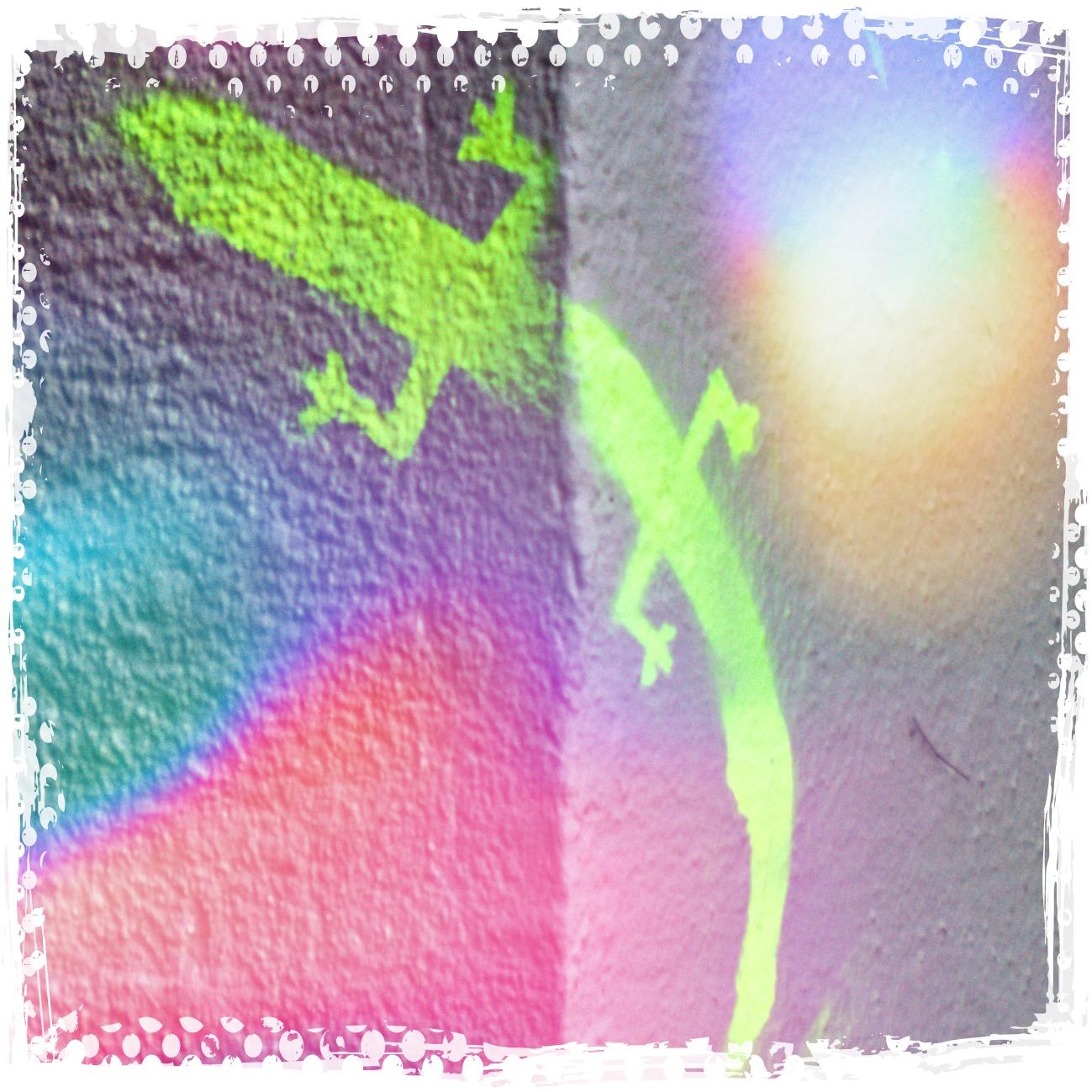 Geckograffiti weiter verfeinert