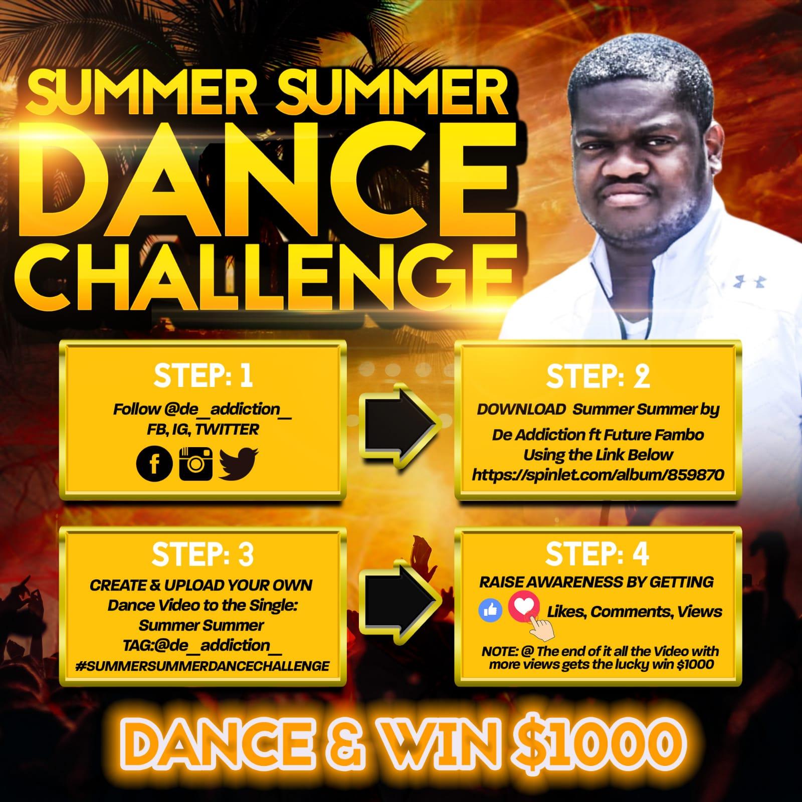 "De addiction Begins ""Summer Summer"" Challenge 1"