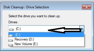Cara Mempercepat Komputer Tanpa Software  Mempercepat komputer Menggunakan Disk Cleanup