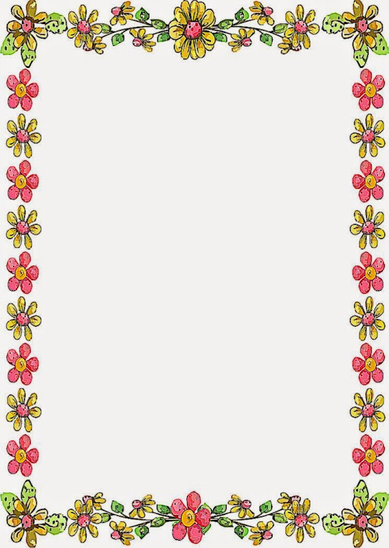 Flower Border Designs For Page | www.imgkid.com - The ...