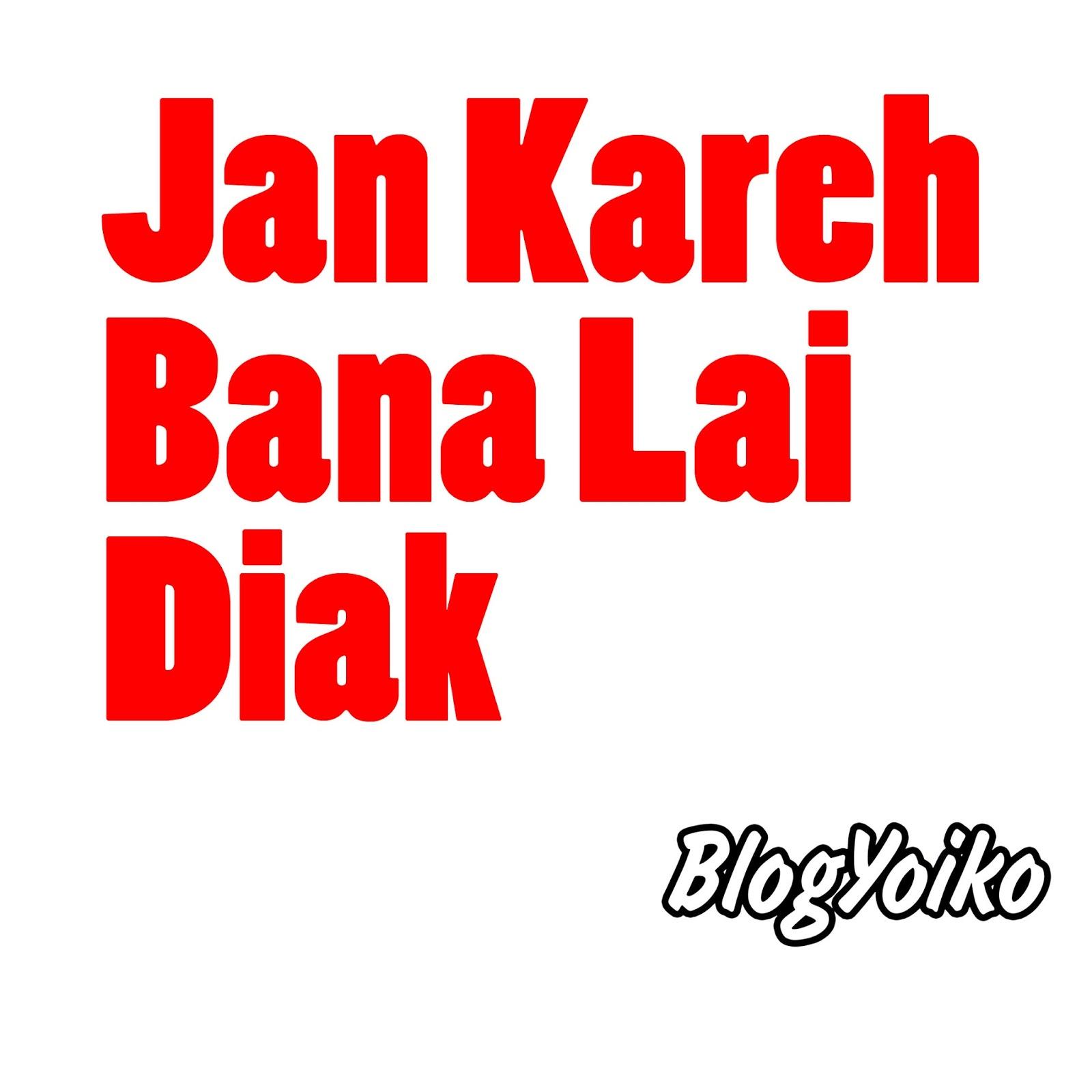 Gambar DP BBM Lucu Bahasa Minang Blogyoikocom