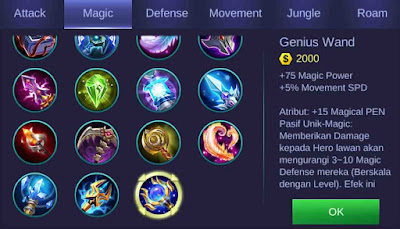 Genius Wand Mobile Legends Kimmy