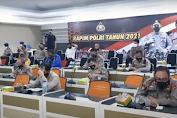 Rapim Polri 2021, Kapolri Perintahkan Jajaran Selesaikan Kasus Tragedi KM 50
