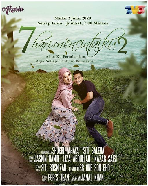 Poster drama 7 hari mencintaiku 2