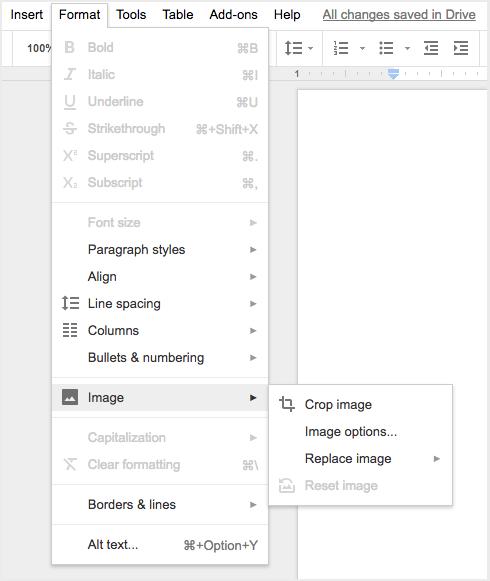 G Suite Updates Blog: Improving the menus and toolbars in Google