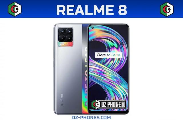 سعر ريلمي 8 في الجزائر ومواصفاته الكاملة Realme 8 Prix Algerie