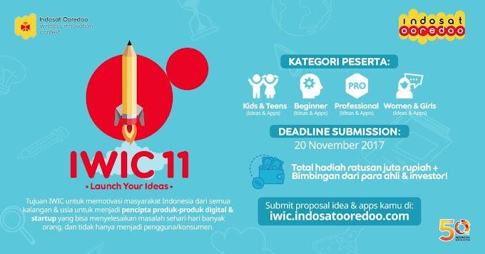 Mau Ide Kreatif Kamu Terwujud? Yuk, Ikutan IWIC 11!