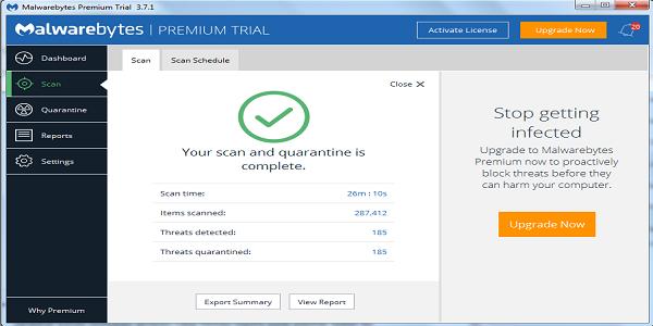Cara Mengatasi Virus Thegoodcaster.com dengan Aplikasi Malwarebytes