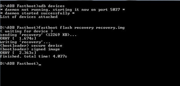 Flash Recovery.img asus zenfone kitkat lollipop