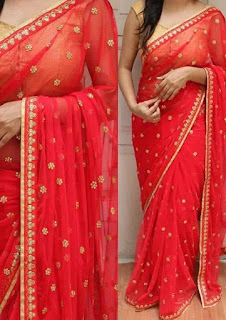Red_wedding_saree_nepal
