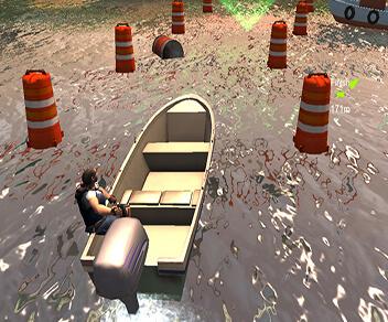 Speed Boat Parking 3D