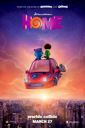 Home (2015) Hindi Dubbed (5.1 DD) Dual Audio BluRay 720p 480p