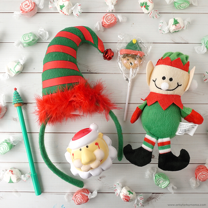 Secret Elf Gift Idea with Free Printable Gift Tag
