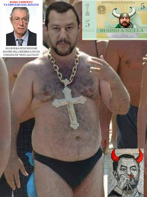 #Ostentazione #Blasfema dei #SimboliReligiosi da parte del ministro degli Interni