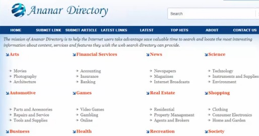 blog, directory, submit, verify