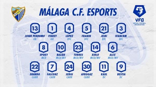 Málaga CF Esports arranca en la competición doméstica