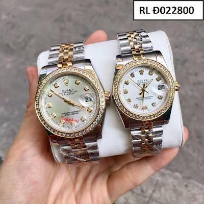 Đồng hồ cặp đôi đẹp nhất RL Đ022800