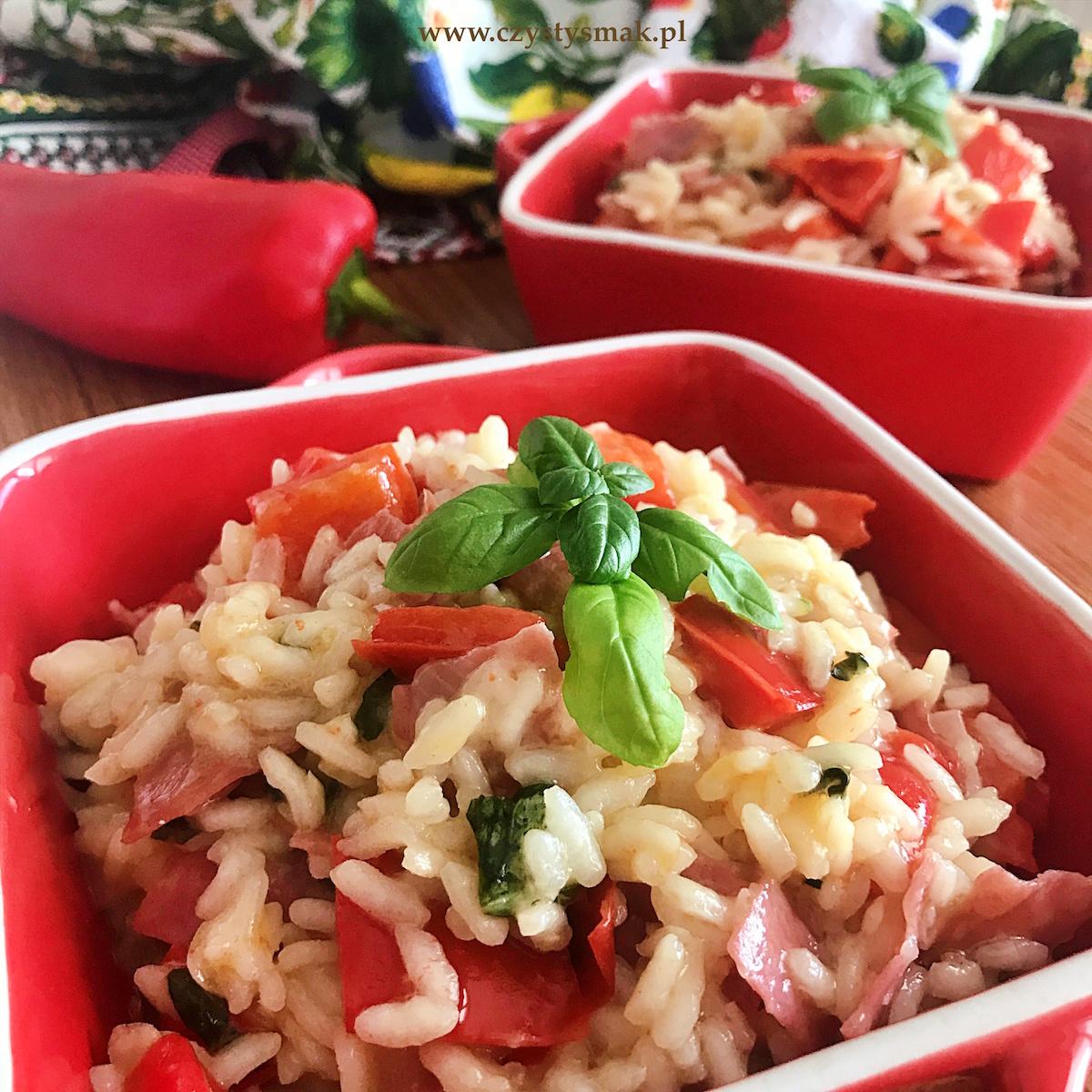 Risotto z ryżu carnaroli
