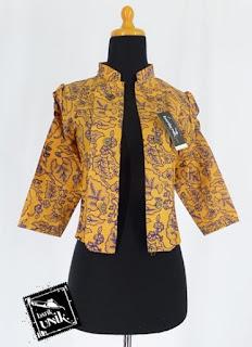 Bolero Batik Modern Elegan
