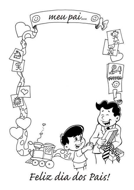 Atividades para o Dia dos Pais para Educação Infantil.