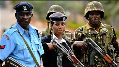MAAFISA WA POLISI KENYA 'WAKAA CHONJO' DHIDI YA TUKIO LA UGAIDI