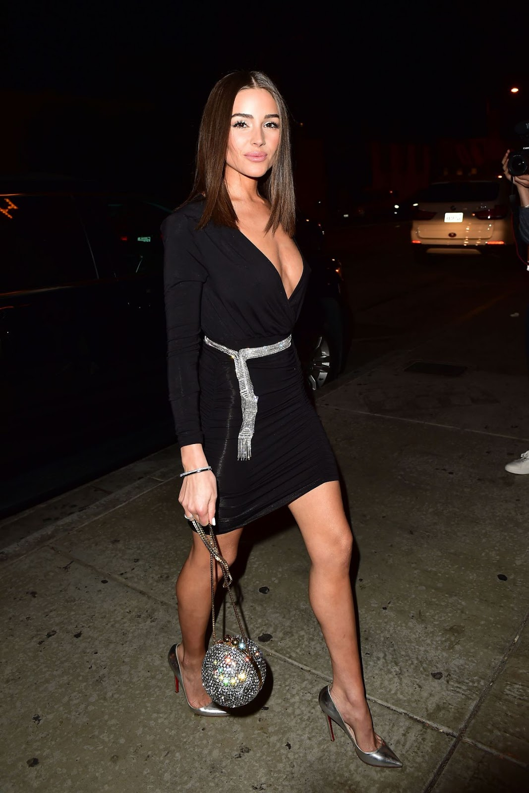 Olivia Culpo Celebrates the launch of her capsule collection with Express at Catch LA - 01/24/2019