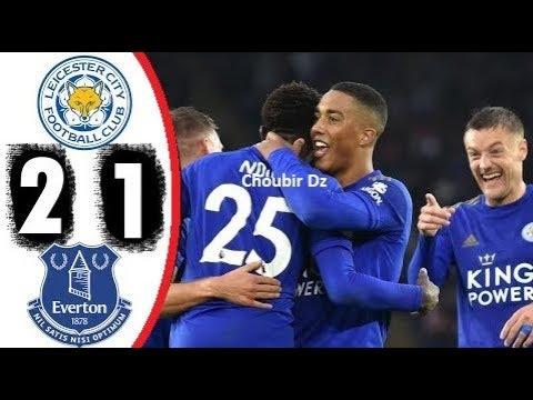 Leicester City 2-1 Everton premier league highlight
