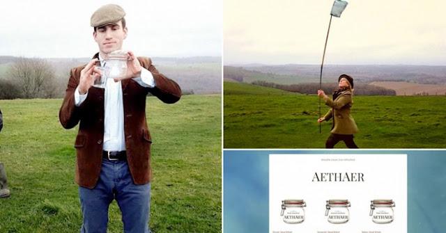 Este hombre le vende aire puro británico a China y por tan solo 115 dólares el frasco