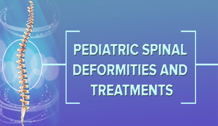 Pediatric Spinal Deformities and Treatments #infographic