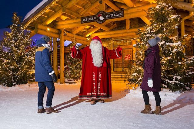 Cơ hội chụp hình cùng ông già tuyết