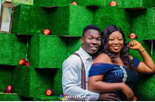 Comedian Dele Omo Woli Weds His Lover [Photos]