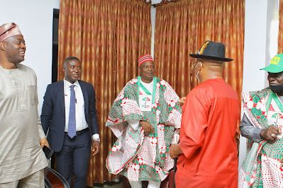 Seyi Makinde Meets With Wike, Kwankwaso Ahead of Ondo Election #OndoDecides2020