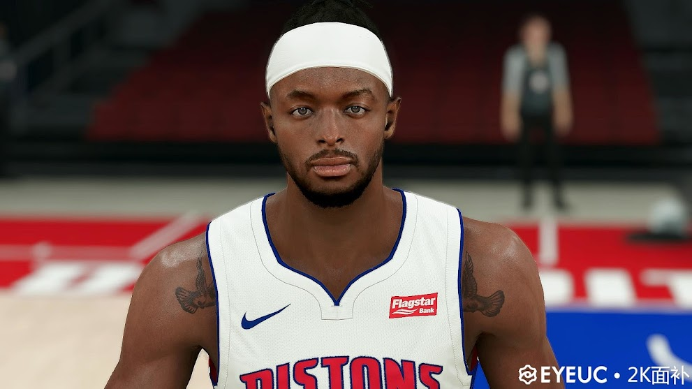 Jerami Grant Cyberface, Hair update and Body Model By Awei [FOR 2K21]