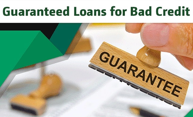 guaranteed loans for bad credit installment loan