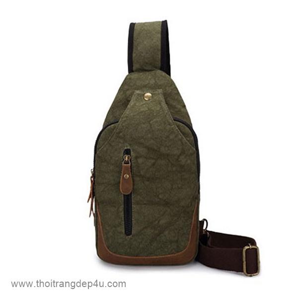 Túi đeo chéo nam vải bố năng động BAF253