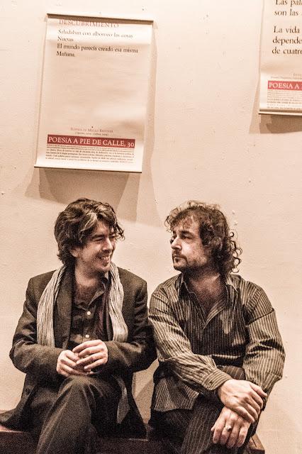 José María Gómez Valero y David Eloy Rodríguez por Stefania Scamardi