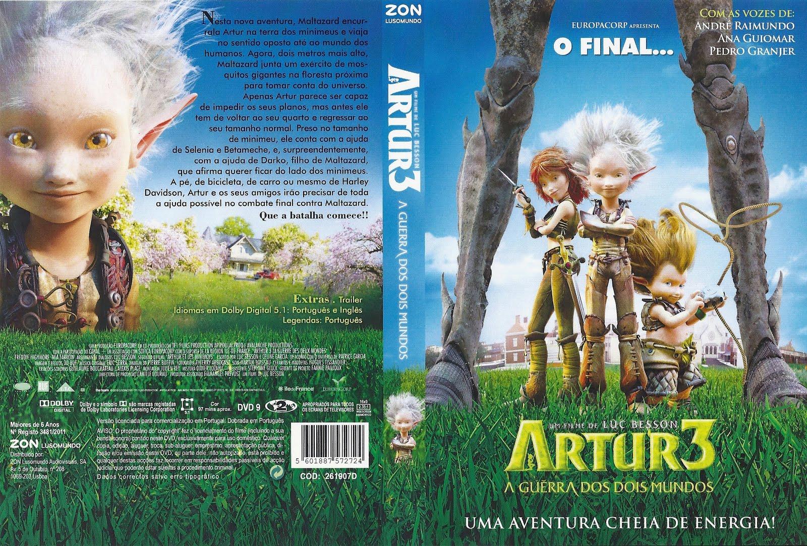 Capas Alexandre Artur 3 A Guerra Dos Dois Mundos Arthur Et
