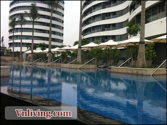 1 bedrooms for rent in City Garden apartment Binh Thanh District