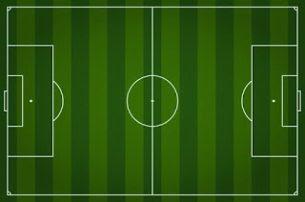 شكل توضيحي ملعب كرة قدم