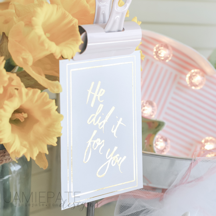 Share the Story of Easter | @jamiepate @heidiswapp